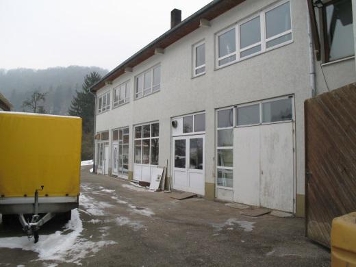89601 Schelklingen-Hütten, Produktions- und Lagerhalle Schreinerei