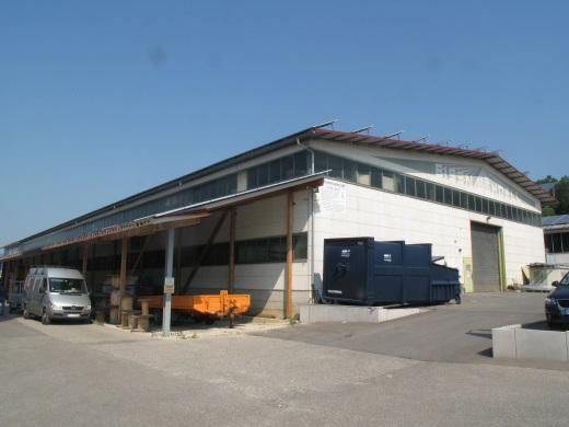 72525 Münsingen, Industriehalle, Lager mit PV-Anlage