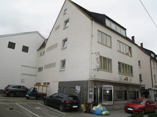 89073 Ulm, Wohn- und Geschäftshaus 2 Wohneinheiten 1 Praxis 1 Gewerbeeinheit